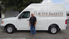 Active Sales Co Service Van