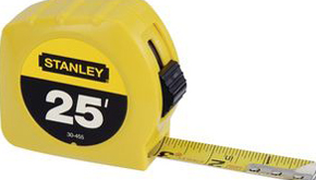 Hand tools – tape measures