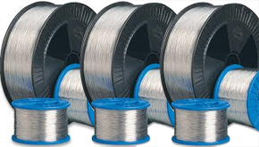 Wire for stitching machines